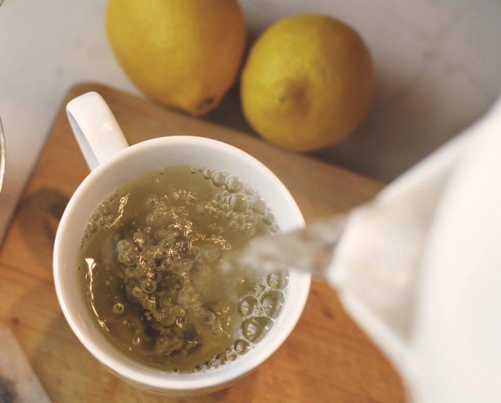 zielona herbata tonik