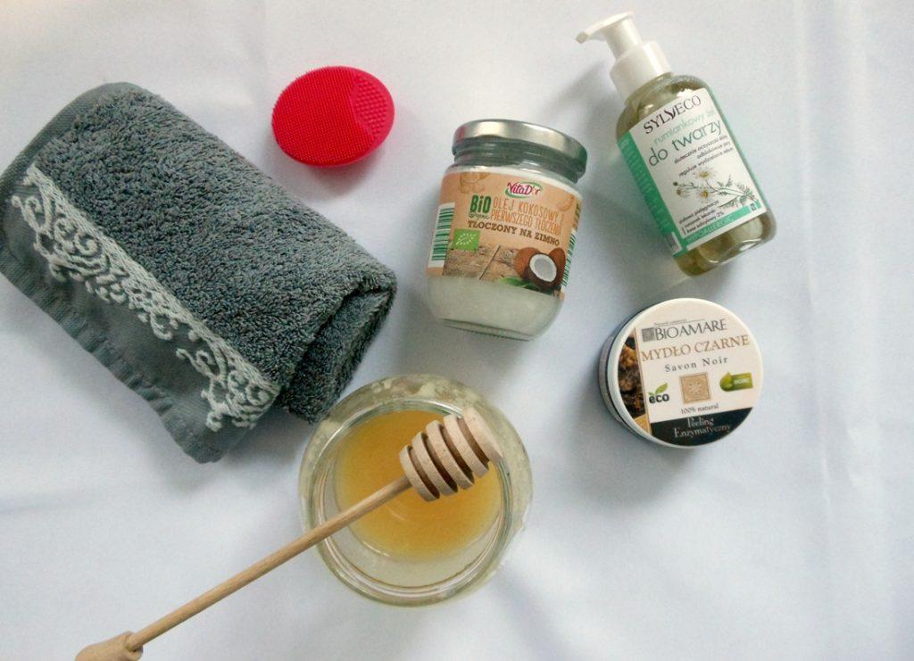 oczyszczanie twarzy naturalne produkty